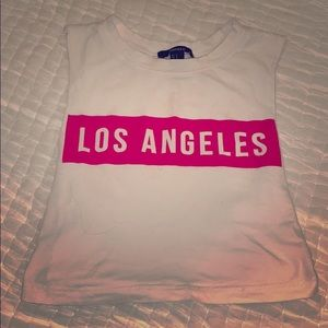 Los Angeles Short Sleeved Shirt Size Small